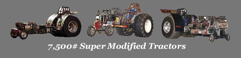 7,500# Super Modified Tractor SMT