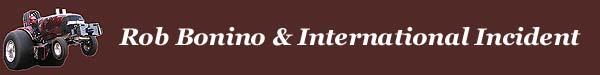 Rob Bonino - International Incident